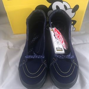 Vans Shoes - Disney X Vans Sk8 Hi Mickey Women Sz 6